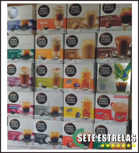 Combo 50 Cápsulas Nescafé Dolce Gusto / Frete + Barato!!!