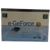 Placa De Video E-geforce 7200gs 256mb