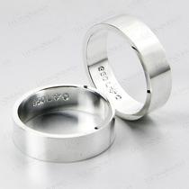 Par Alianças Namorados Compromisso Prata Ag-036
