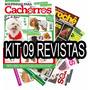 Kit 9 Revistas Moda Pet Roupinha Para Cães Cachorro Roupa