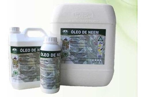 Óleo Neem Puro Orgânico Inseticidas 2 Litros + Brinde