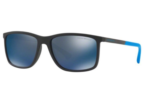 Oculos Sol Emporio Armani Ea4058 565025 58 Preto Lente Azul faeb773b2c