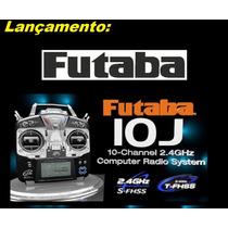Rádio Futaba 10j - Avião Drone Heli + R3008sb + Telemetria