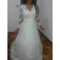 Vestido De Noiva Locação