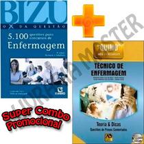 Bizu De Enf. 5100 + Quimo Técnico De Enfermagem