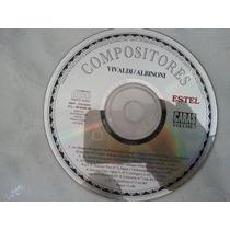 Cd Sl Capa Vivaldi | Albioni Compositores Ja 74