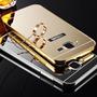 Capa J5 Galaxy Luxuosa Fundo Espelhado Tpu 100% Original