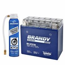 Bateria Gel Harley By-gtx20 + Reparador