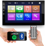 Mp5 Central Multimídia Mp3 Bluetooth Usb Fm Full Touchscreen