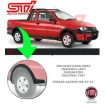 Moldura Paralama Traseiro Passageiro Fiat Strada Adventure