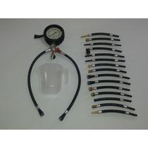 Medidor De Pressão E Teste De Vazão De Combustível
