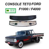 Console Teto Caminhão Pick Up Ford F1000 F4000 Até 1992 Som