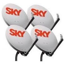 Kit De 4 Antenas Sky