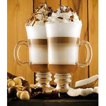 4 Taças/ Caneca Vidro Capuccino Cafe - Nespresso Dolce Gusto