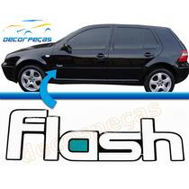 Emblema Adesivo Flash Para Golf Mk4 99 A 06 Resinado Novo