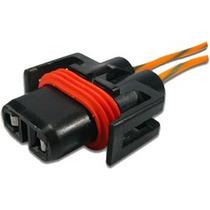 Chicote Conector 2 Vias Soquete Lampada H11 H27 Sensor V Atx