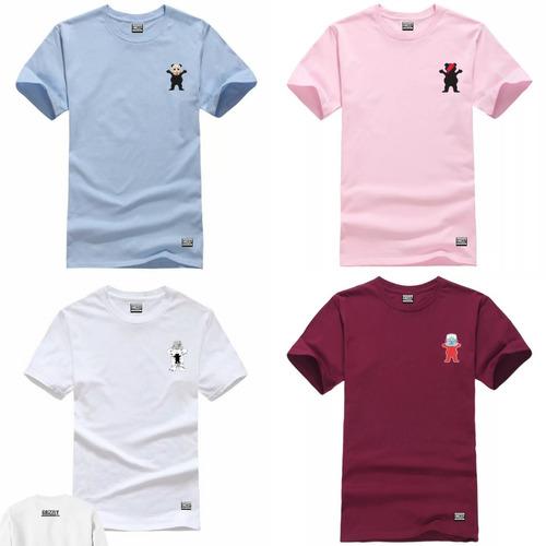 de72ed73e 4 Camiseta Gritape Grizzly Oferta Mes Promocao Mais Adesivo