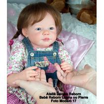Boneca Bebê Reborn Luana Ou Pierre Igual Um Bebe De Verdade
