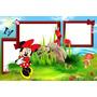 30 Molduras Diagramada P/ Montagem De Álbuns Minnie Vermelha