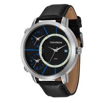 Relógio Mondaine Masculino Grande Pul. Couro 76423g0mvnh1