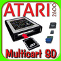 Multicart Sd Atari 2600 Cartucho Fita Jogo K7 Game Harmony
