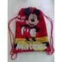 10 Mochilas Brindes Personalizadas Mickey