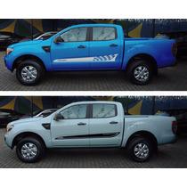 Faixas Esportiva Laterais Automotivas Ford Ranger Adesivo