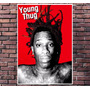 Poster Exclusivo Young Thug Rap Rapper Hip Hop - 30x42cm
