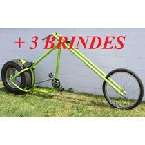 Projeto Bicicleta E Moto Chopper + Frete Grátis + 3 Brindes
