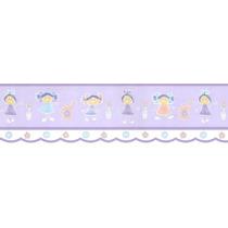 Faixa Para Papel De Parede - Meninas (lilás)