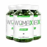 Womax 3 Potes 60 Caps Cada! Emagrecedor Suplemento