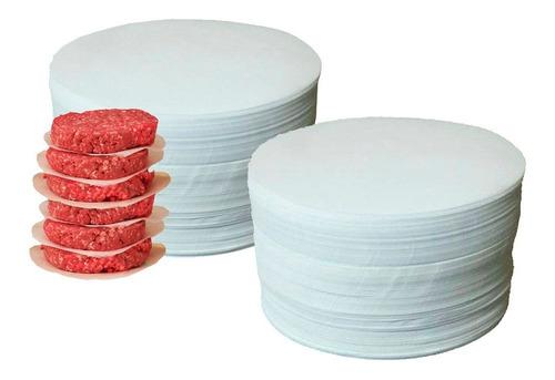 Papel Parafinado Redondo Hambúrguer 12,8 Cm 2kg = 2000 Unid