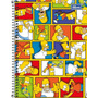 Caderno Escolar Espiral Tilibra Simpsons Grande 200 Folhas