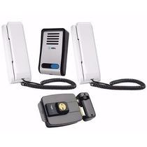 Interfone Porteiro Eletronico Hdl F8-s+ Extensão+ Fechadura