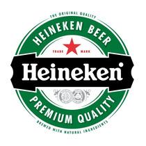 Adesivo Logo Heineken 50cm X 50cm P/geladeira Carro Notebook