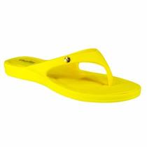 Chinelo Rasteira Feminino Linha Conforto Usaflex Amarelo