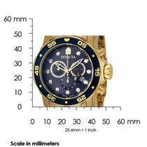 Relógio Masculino Invicta Pro Diver 0073 Azul Original