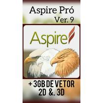 Programa Aspire 9 Pró  Para Máquinas Cnc Fresadoras/routers