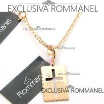 Rommanel Cordao Masculino E Pingente Cruz 531296 540104