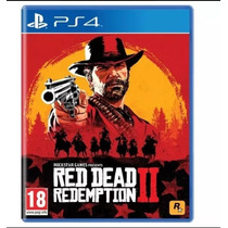 Pronta Entrega  Red Dead Redemption 2 Ps4 Midia Fisica  Novo