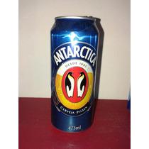 Lata Cerveja Antarctica Latão Símobolo E Boa Verso