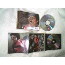 Cd+dvd Michael Jackson - Thriller Edição De 25º Aniversário