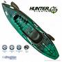 Caiaque Hunter Fishing Brudden - Verde Com Preto 18kg