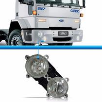 Farol Duplo Caminhão Ford Cargo 1722 2422 2428 Diagonal Ld