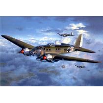 Modelo Plane - Revell 1:72 Heinkel He111 H-6 Alemão Da Segu