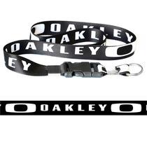 Chaveiro Cordão Com Fecho Moto Oakley