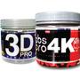 Kit Emagrecimento Termogênico Abs 4k E Pré Treino 3d Pro