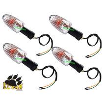 Kit Com 4 Pecas Pisca Dafra Apache 150 Com Lampada Novo