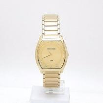 Relógio Technos Social Feminino Dourado Slim Gl20hd/4x