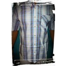 Camisa Xadrez Country Masculina - Manga Curta - Alabama